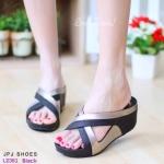 รองเท้าเพื่อสุขภาพ Two-Tone Fitflop Sandals Style ทรงสวมใส่สบาย