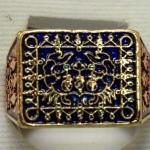 แหวนปูหนีบทรัพย์ กายทิพย์ หลวงปู่นิ่ม วัดพุทธมงคล(หนองปรือ)สุพรรณบุรี