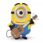 Minions Movie 8 Inch Talking Stuart with Guitar ของแท้ นำเข้าจากอเมริกา
