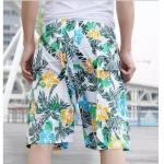 Pre-order กางเกงขาสั้น กางเกงลำลองฤดูร้อน กางเกงทะเล แฟชั่นสไตล์เกาหลี สำหรับหนุ่มไซส์ใหญ่ โทนสีเขียว-5