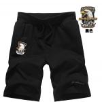 Pre-order กางเกงขาสั้นเบสบอล กางเกงลำลองฤดูร้อน กางเกงลำลอง Air force one สีดำ