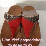 รองเท้า Fitflop Rockchic เพชรเม็ดเล็ก รุ่นใหม่ สีแดง No.FF335