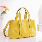 (Pre-order) กระเป๋าสะพายหนังแท้แบบเรียบหรู แฟชั่นกระเป๋าถือ กระเป๋าสะพายสไตล์ยุโรป อเมริกา สีเขียวแอปเปิ้ล