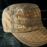 หมวก Cap สีน้ำตาล ลายปักสีน้ำตาลเข้ม LEVI'S เท่ห์มากๆ