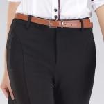 (Pre-Order) กางเกงผู้หญิงแฟชั่นมาใหม่ 4D สีดำ กางเกงลำลองสุดหรู ใส่สบาย ยืดหยุ่นได้ดี ไม่ร้อน
