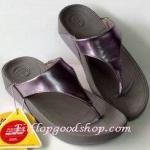 รองเท้า Fitflop Lulu หูหนีบ สีเงิน No.FF283