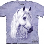 Pre.เสื้อยืดพิมพ์ลาย3D The Mountain T-shirt : Moonshadow