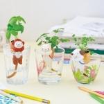 [Preorder] ที่ปลูกต้นไม้รูปสัตว์ขนาดมินิไม่ต้องรดน้ำ แบรนด์ Shippon มีตัวสุนัข (ต้น Clover)/ แมว (Wild Strawberry)/ลิง (Basil)