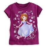Sofia Princess Tee with Filigree for Girls (12-18month)