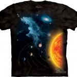 Pre.เสื้อยืดพิมพ์ลาย3D The Mountain T-shirt : Solar System