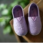 รองเท้าเด็กสีม่วง ไซส์ 28