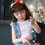 เสื้อเด็กหญิง Phelfish สีชมพู