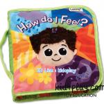 หนังสือผ้า lamaze how do i feel