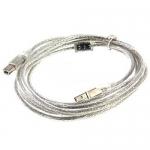 Cable PRINTER USB2 (3M) ใส 'Glink'