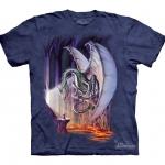 Pre.เสื้อยืดพิมพ์ลาย3D The Mountain T-shirt : Dragon Lair