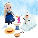 (Mini) Disney Animators' Collection Elsa Mini Doll Play Set - 5'' ของแท้ นำเข้าจากอเมริกา