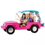 z Barbie Sisters Safari Cruiser ของแท้100% นำเข้าจากอเมริกา ตุ๊กตาบาร์บี้ พร้อมเซ็ตขับรถซาฟารี