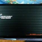 เพาเวอร์แอมป์รถยนต์ 4 ch 4400 W ยี้ห้อ LANZAR