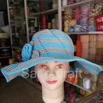 หมวกถักโครเชต์ หมวกปีกกว้าง หมวกสวยๆ