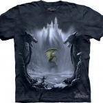 Pre.เสื้อยืดพิมพ์ลาย3D The Mountain T-shirt : Lost Valley