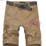 (Pre-Order) กางเกงขาสั้น กางเกงลำลองผู้ชาย ทรงขาตรง มีกระเป๋าข้าง