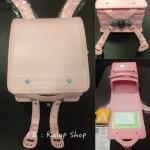 [Preorder] กระเป๋านักเรียน Randoseru ของแท้จากญี่ปุ่น สีชมพูอ่อน