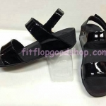 รองเท้า Fitflop New สวม รัดส้น สีดำ No.FF436