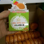 SOLPA Milk Cantaloupe Baby White Soap สบู่แคนตาลูปนมสด ราคาถูก ขายส่ง ของแท้