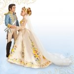 Live Action Film - Cinderella and The Prince Disney Film Collection Doll Set - 11''