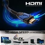 Cable HDMI 1080P( 'Glink') เชือกถัก 3M