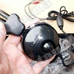 HeadSet+Mic 'LUPUSS' (LPS-1006) Black