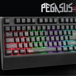 SIGNO E-Sport PEGASUS Semi Mechanical Gaming Keyboard Rubber Dome KB-739