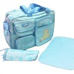กระเป๋าคุณแม่ ใส่ของใช้เด็ก ไซส์ L เซ็ต 3 ชิ้น