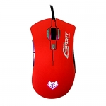 MOUSE Macro NUBWO SQUAD (NM-40) Red