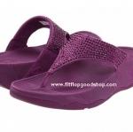 รองเท้า Fitflob Rokkit Purple เพชรกระจาย สีม่วง No.FF111