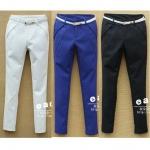 (Pre-Order) กางเกงทำงาน กางเกงขายยาว กาเกงแฟชั่นเกาหลีปี 2014