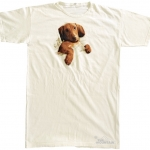 Pre.เสื้อยืดพิมพ์ลาย3D The Mountain T-shirt : Naptime Dachshund - (NS) MD Nightshirt ONE SIZE FITS ALL!