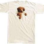 Pre.เสื้อยืดพิมพ์ลาย3D The Mountain T-shirt : Naptime Dachshund - (NS) MD Nightshirt ONE SIZE FITS ALL!