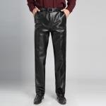 (Pre-order) กางเกงหนัง ขายาว ทรงสแล็ค ทรงสุภาพ หนังพียูคุณภาพดี