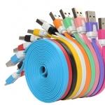 Cable USB To Micro USB (3M) ม้วนใหญ่ คละสี
