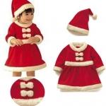 ชุดซานตี้ พร้อมหมวก