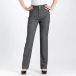 (Pre-Order) กางเกงทำงานผ้าลินิน กางเกงสแล็คลินิน กางเกงทรงขาตรง ขากระบอก สีเทา