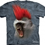 Pre.เสื้อยืดพิมพ์ลาย3D The Mountain T-shirt : Punky!