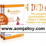 Sparkabilities 4 DVD (Toddler1-2, Babies1-2) ราคา 200
