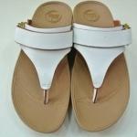 รองเท้า Fitflob Via (Nubuck) White สีขาว No.FF126