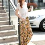 Pre-Order กางเกงลำลอง กางเกงเที่ยวทะเล กางเกงฮาเร็ม โบฮีเมียน ผ้าผสม สีเหลืองมะนาว