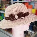 หมวกถักโครเชต์ เชือกร่ม