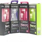 EarPhone+Mic 'Neon' (Elmcoei) T Bass คละสี
