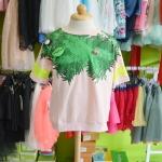 เสื้อเด็ก เสื้อลายต้นไม้ มีลิงเกาะ PinkIdeal ไซส์ 13