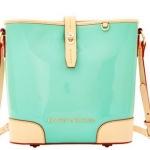 Pre-Order กระเป๋าหนังแก้วสีฟ้าอ่อน Dooney & Bourke Claremont' Crossbody Bucket Bag กระเป๋าถือใบเล็ก กระเป๋าแฟชั่นผู้หญิงทำงาน